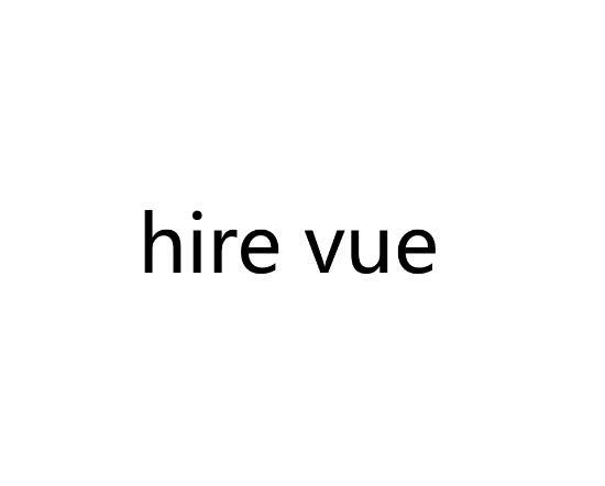 HIRE VUE